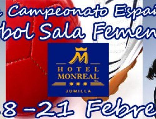 Yecla cuidad sede de la previa del campeonato españa sub-21 de futbol sala femenino